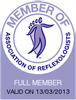 Peak Physique is a member of the Association of Reflexologists